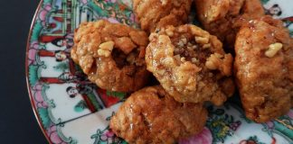 Greek Honey Cookies for the Holidays