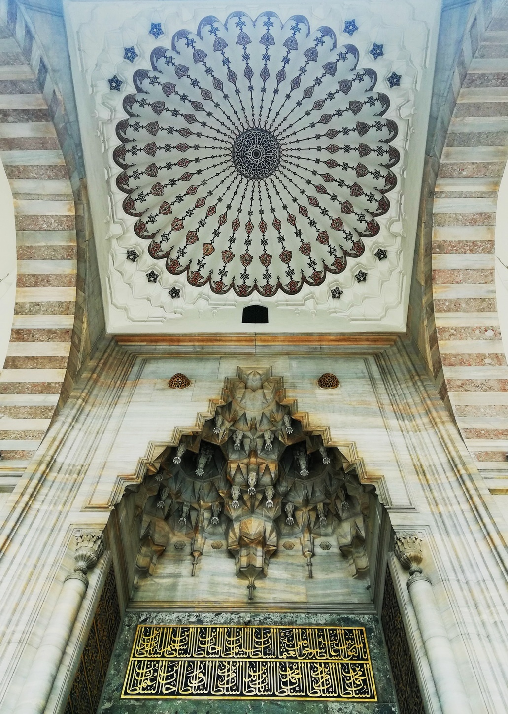 Mimar Sinan- Şehzade Mosque - Entrance with Muqarnas