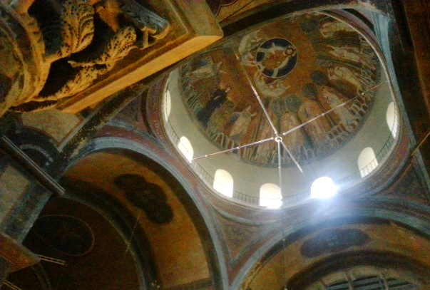 Churches in Thessaloniki- Agia Sophia- Mosaic