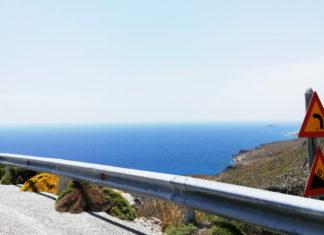 Driving in Crete