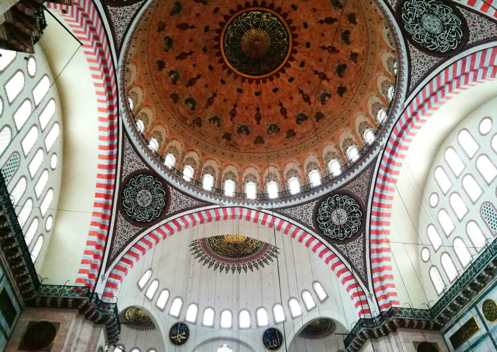 The Fossati Brothers' mid 19th-century restoration gave the Mimar Sinan designed Süleymaniye Mosque a Baroque dome