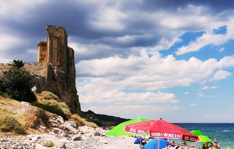 Greece to Italy by Motorcycle -Calabria - Roseto Capo Spulico