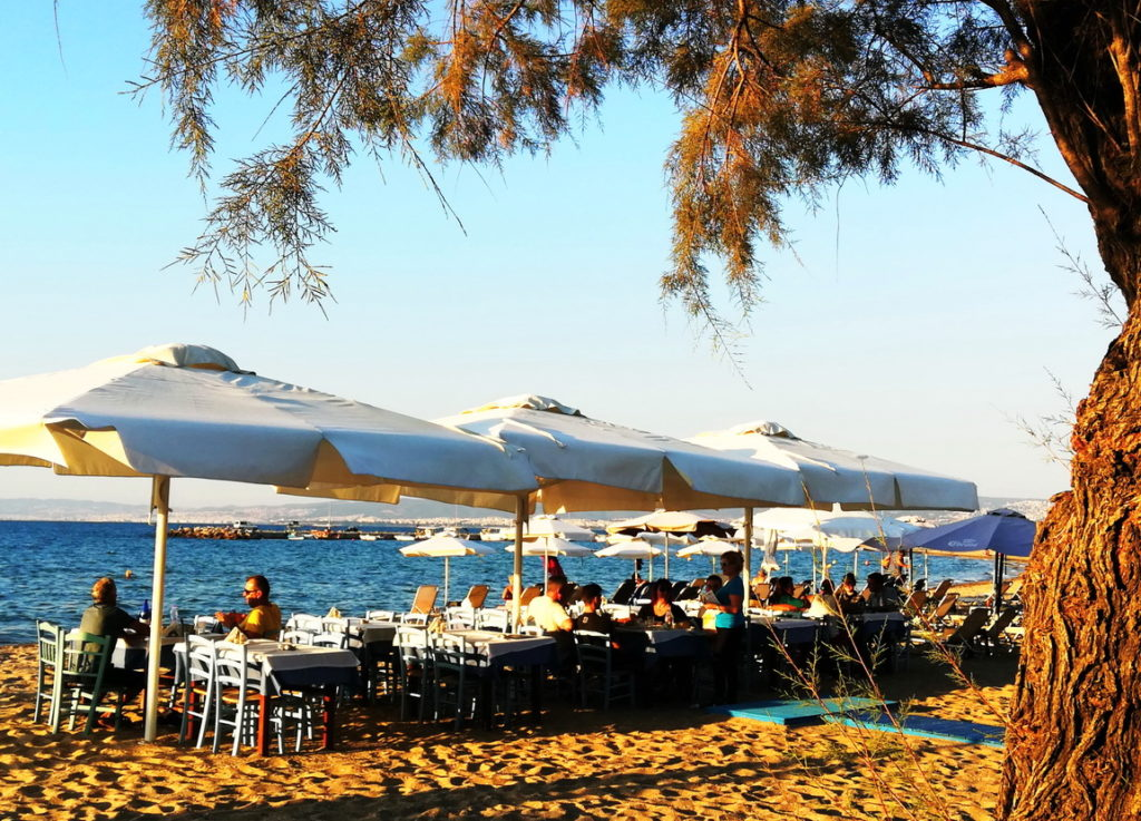 Beaches in Thessaloniki - Agia Triada
