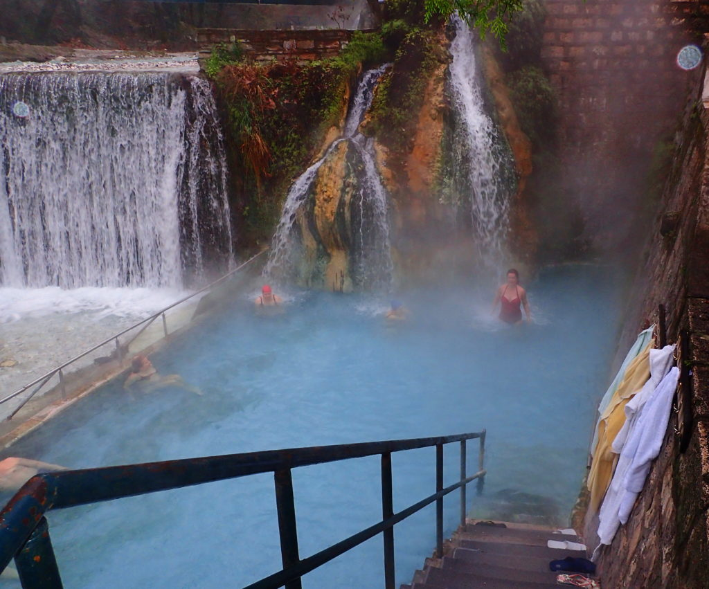 The warm springs of Pozar make a good day trip from Thessaloniki