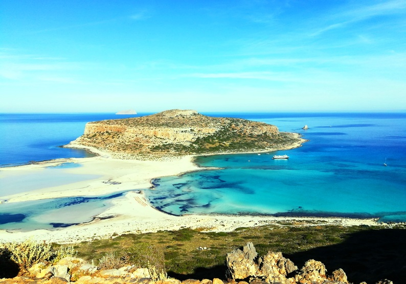 Balos - A perfect beach for your first time in Greece