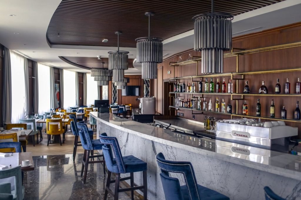 Where to Stay on Belgrade - The Chic Bar of the Hotel Centar No. 1