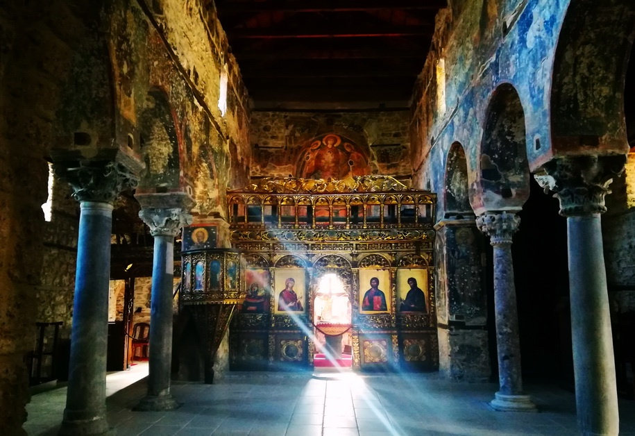 Edessa's Church of the Assumption of Virgin is one of the finest Palailogan Churches of Northern Greece