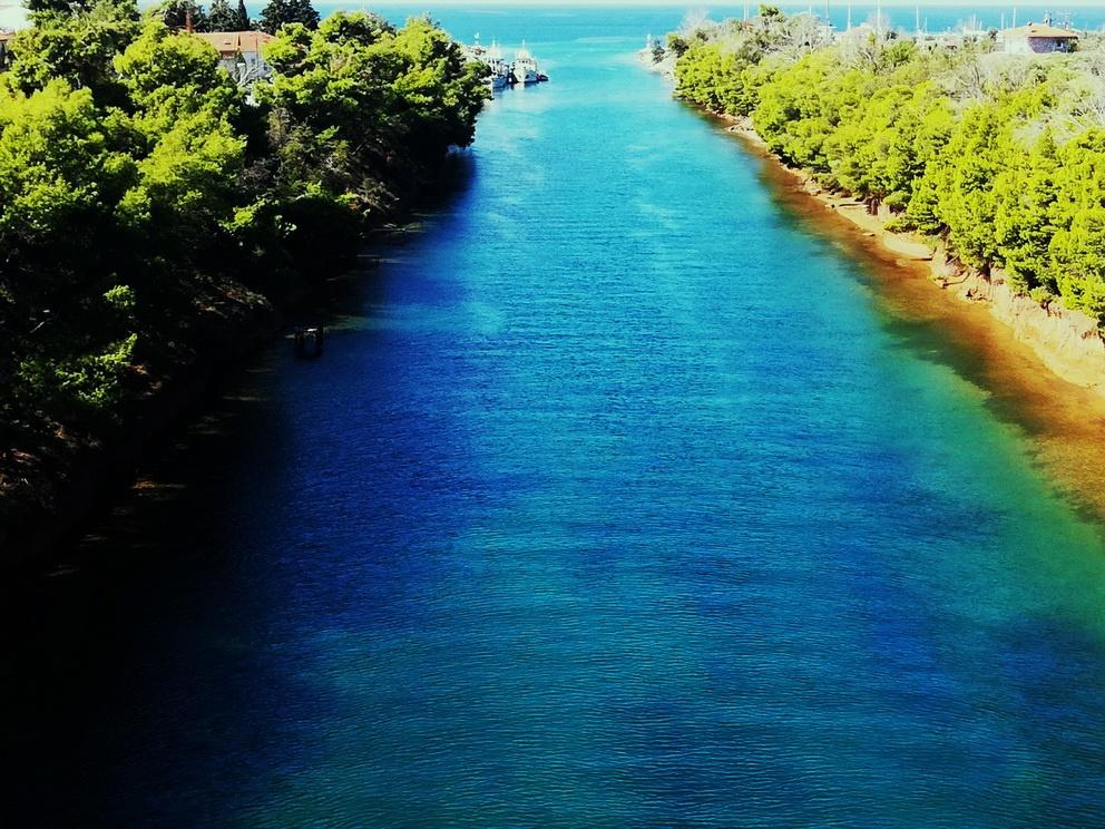 Halkidiki - The Potidea Canal
