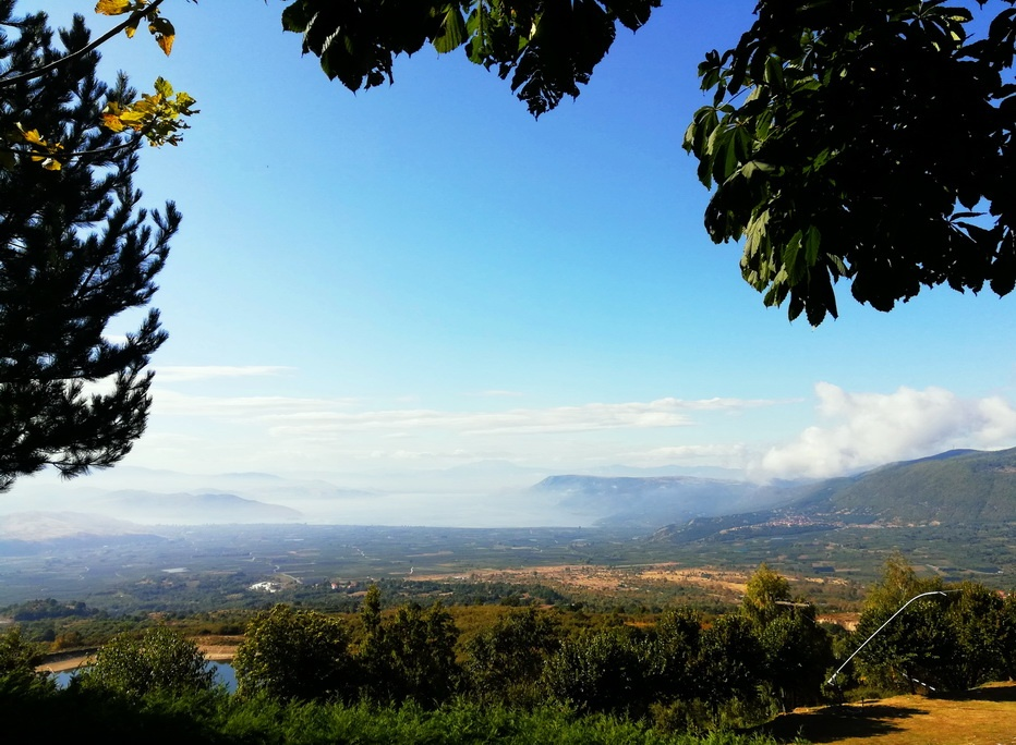 Edessa Region - the view from Panagitsa