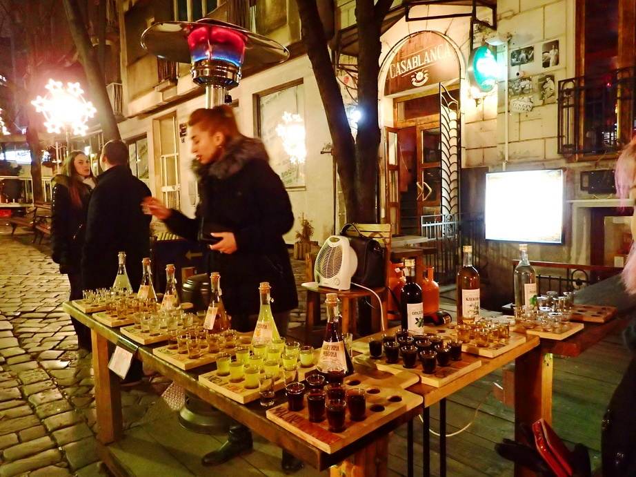 Sampling a Variety of Rakija along Festive Skardalija