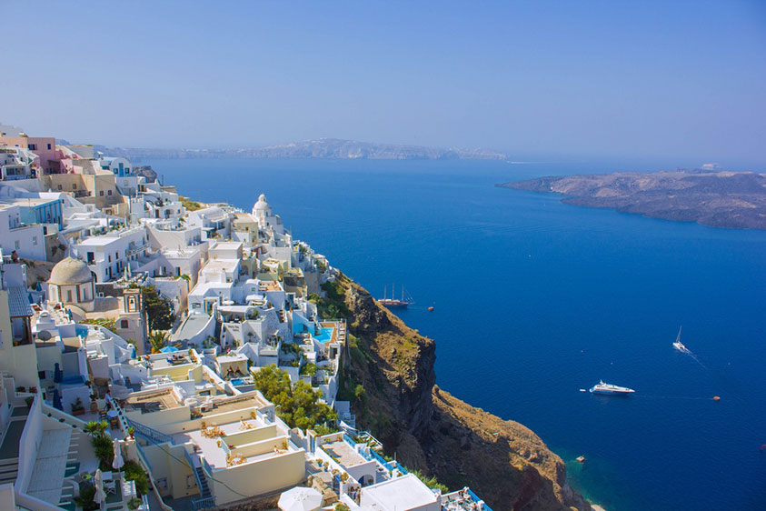 Fira, Santorini with its dreamy views - Antelope Travel