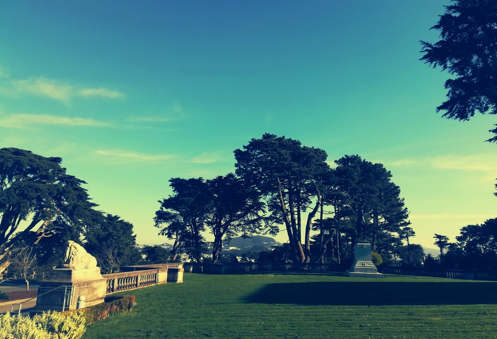 5 Days in San Francisco - The Lawn of the Palace of the Legion of Honor