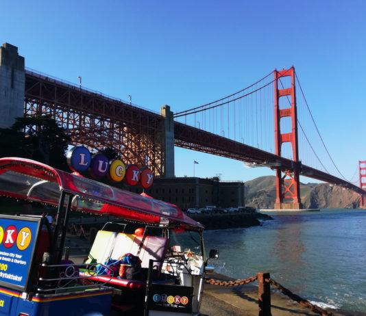 5 Days in San Francisco - A Tuk Tuk Tour of San Francisco