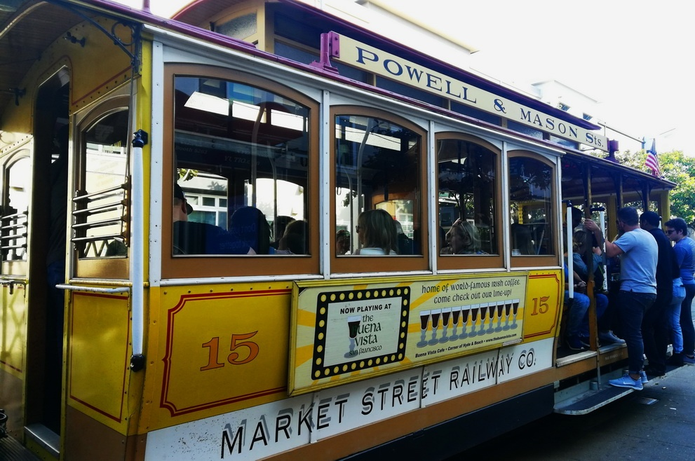 A 5 day San Francisco itinerary - the Cable Car