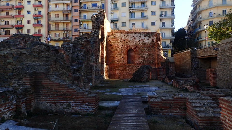 The Galerian Palace - one of the top 10 historic sights in Thessaloniki