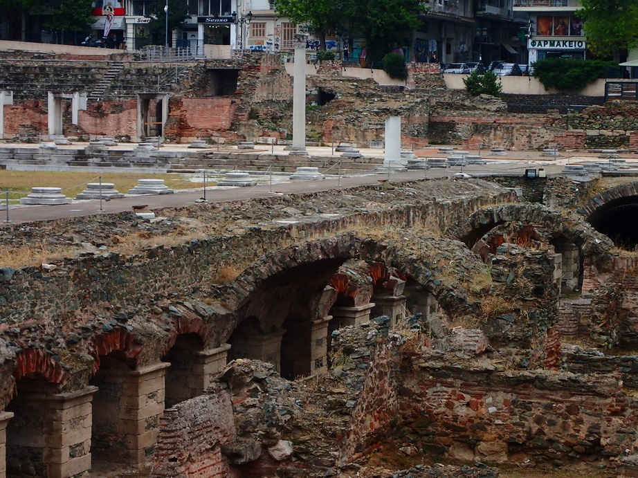 The Roman Agora is one of the top 10 historic sights in Thessaloniki