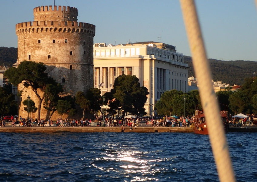 The White Tower is one of the top 10 historic sights in Thessaloniki