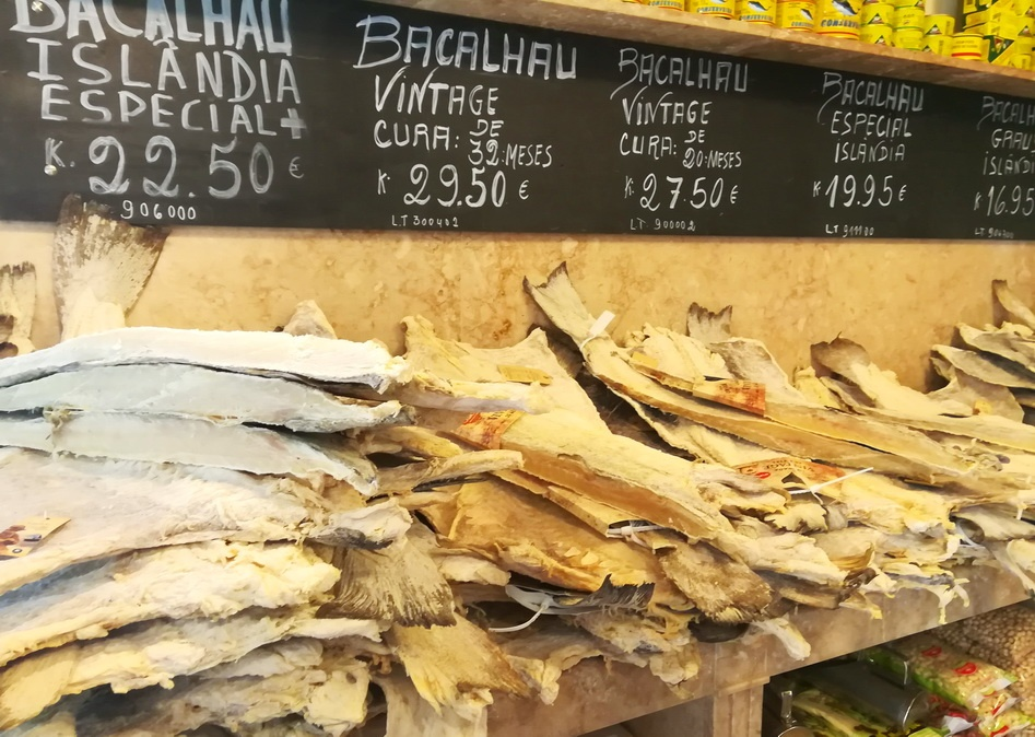 What to Eat in Three Days in Lisbon - Bacalhau