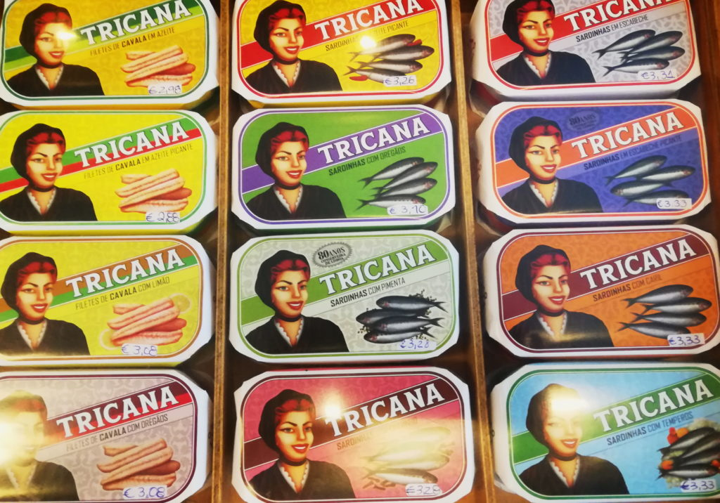 Three Days in Lisbon - The beautiful tins of fish at the Conserveira de Lisboa