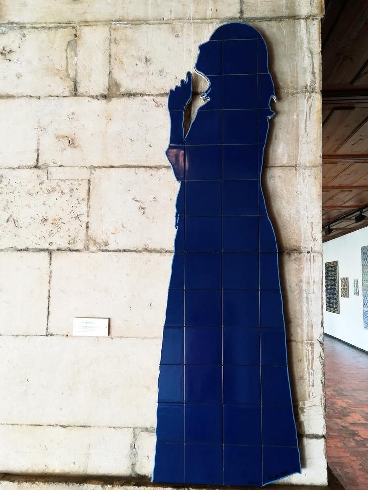 Visiting the Tile Museum in Lisbon - Museu Nacional do Azulejo - Lourdes Castro