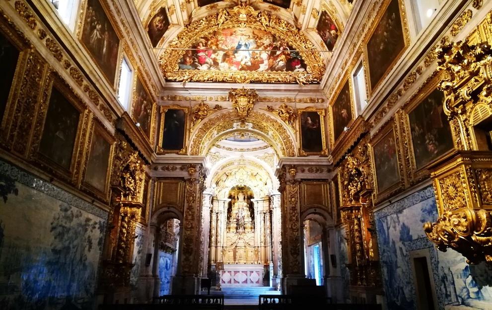The Baoque Chapel of the Madre de Deus Convent - Museu Nacional do Azulejo