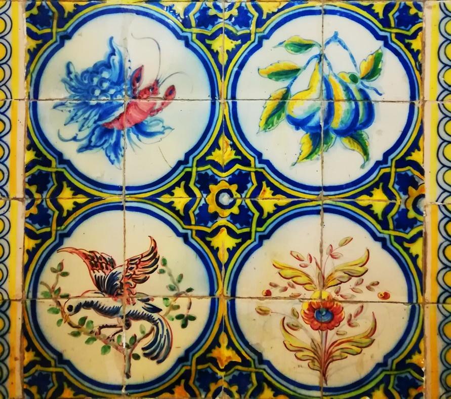 Time Out Maket Lisbon - Mercado da Ribeira - Tiles
