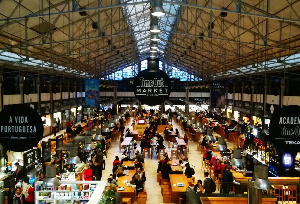 Time Out Market Lisbon - Mercado da Ribeiro Main Hall Mercado da Ribeira