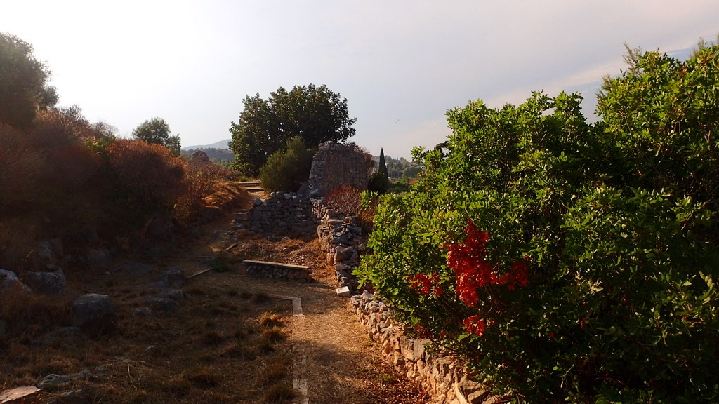 The Ruins of Ancient Asini at Tolo, Greece