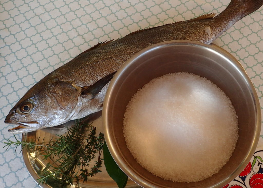 Salt Baked Fish Recipe - Simple Ingredients