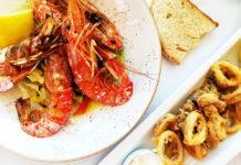 Pristine Seafood at Golden Beach Restaurant in Tolo