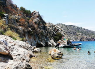 An Idyllic Cove in the Bay of Tolo, Argolida