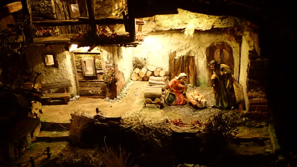 Winter in Baden Baden - a Nativity scene