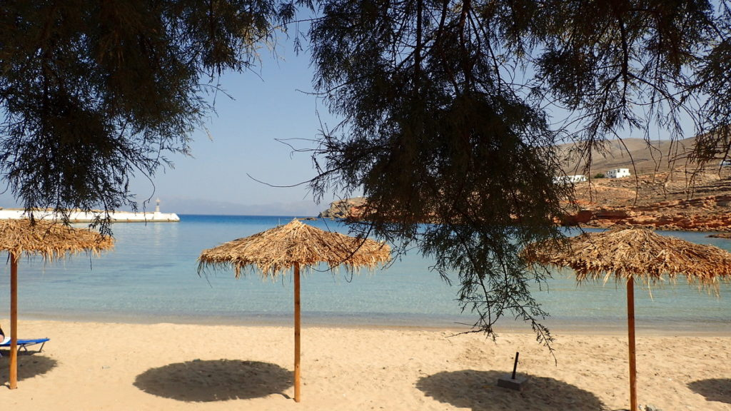 Emboriou Beach in Fri, Kasos