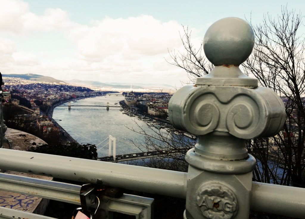 2 or 3 days in Budapest - The View from Gellért Hill