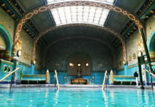 The Thermal Pools of the Art Nouveau Gellért Baths ona 2 or 3 day Budapest itinerary