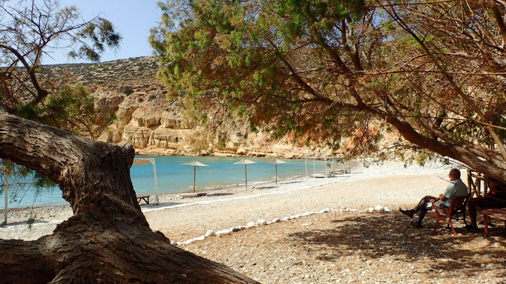 Helatros Beach, on Kasos' southwest shores, is a remote and secluded paradise.