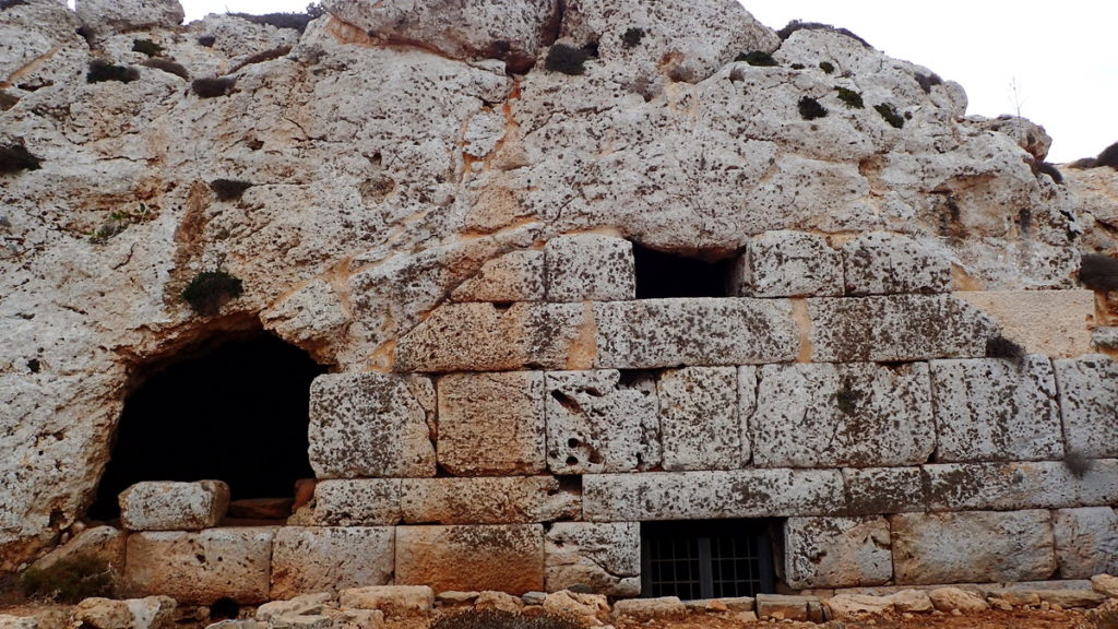 The Cyclopean walls of the Mycenaean Acropolis, Kasos