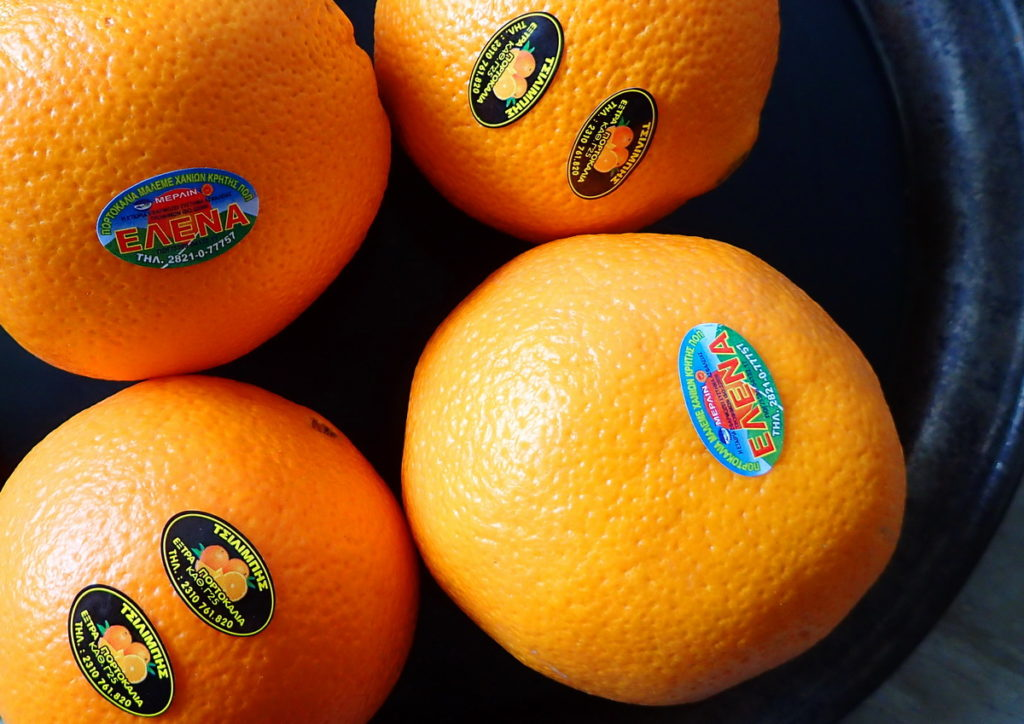 Merlin Oranges from Laconia and Crete