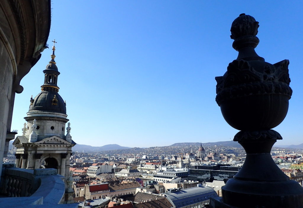 The View from St. Stephen's - [art of a 2 or 3 Days in Budapest itinerary
