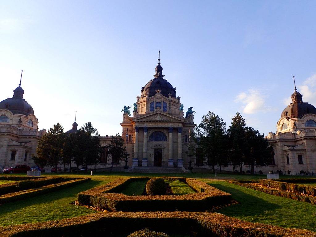 The Palatial Neo-Baroque Széchenyi Baths are an essential stop on 2 or 3 days in Budapest