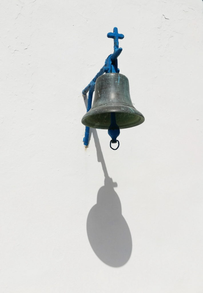 Bell at a mountain chapel