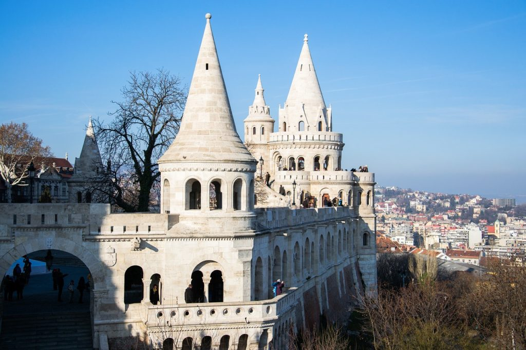 The Neo-Romanesque Fisherman's Bastion is a Dramatic Lookout Point over the Danube