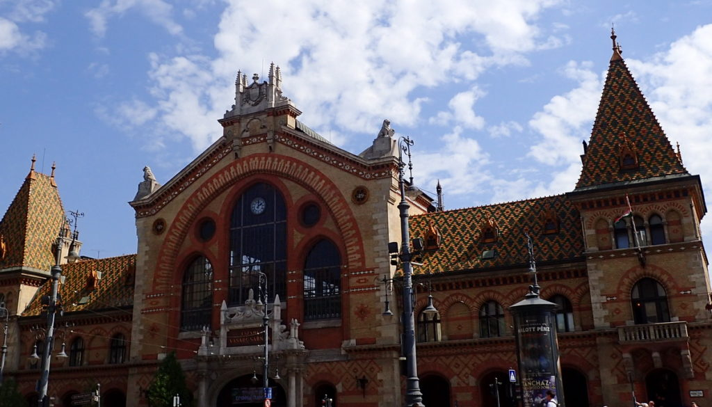 A 2 or 3 Day Budapest Itinerary -The Neo-Gothic Central Market Hall -Nagyvásárcsarnok - of 1897
