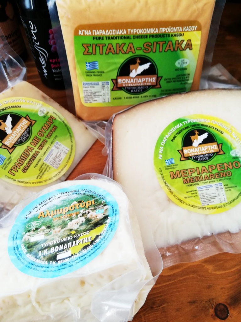 Cheeses of Kasos