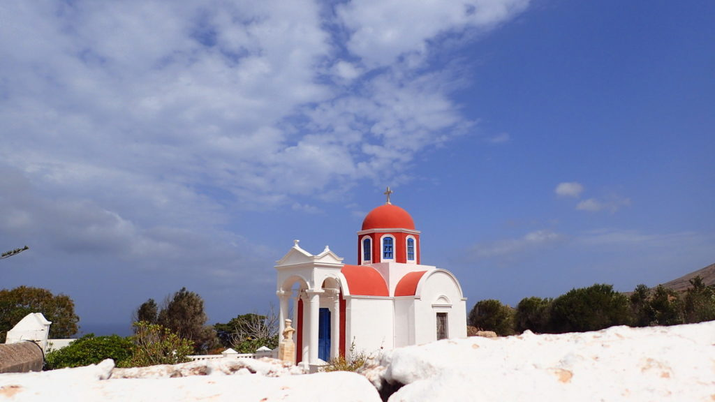 An Elegant Village Church on Kasos