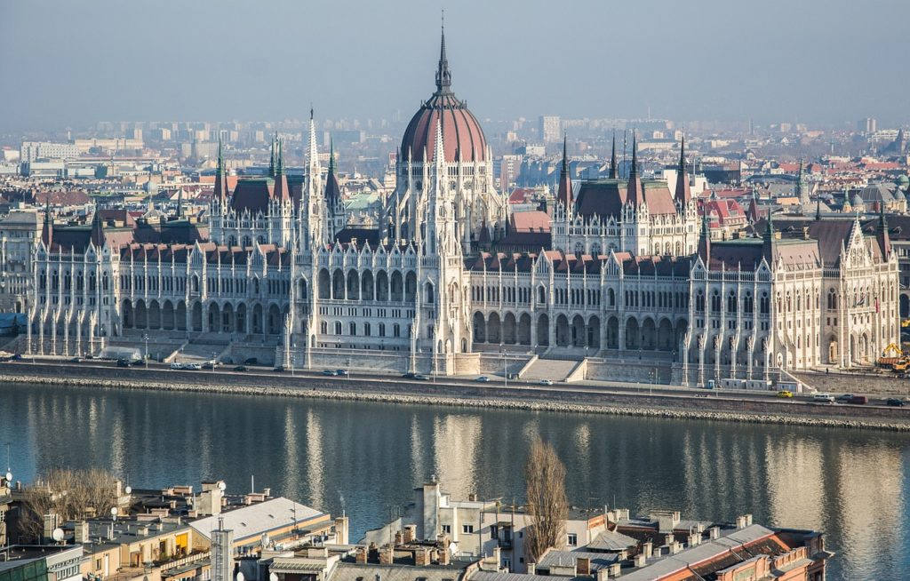 The Splendid neo-Gothic Hungarian Parliament Building is one of the main sights on a 2 or 3 days in Budapest itinerary