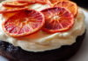 Orange Chocolate Cake with White Chocolate Cream Cheese Frosting