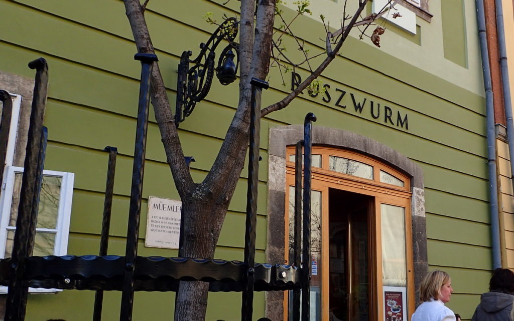 Budapest's Oldest Pâtisserie, Ruszwurm, in the Castle District
