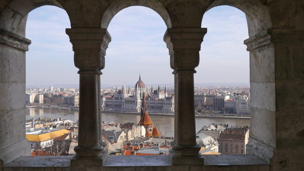 The View of the Parliament Building from the Fisherman's Bastion