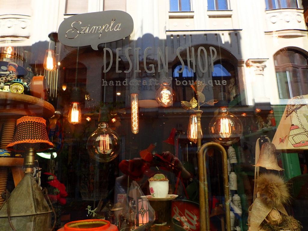 The Szimpla design shop